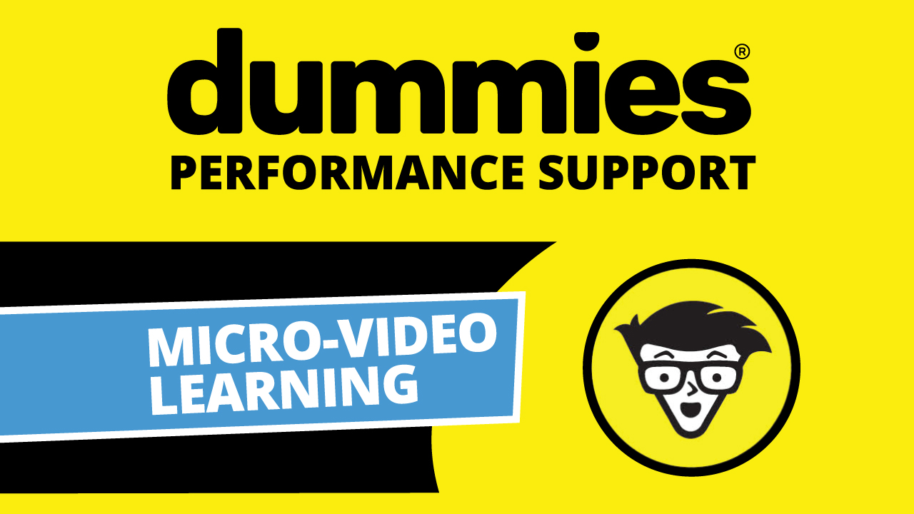 Dummies Mini-Video Technology Library